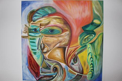 Heinz Kilchenmann, Doppelkopf, Abstraktes, Postsurrealismus