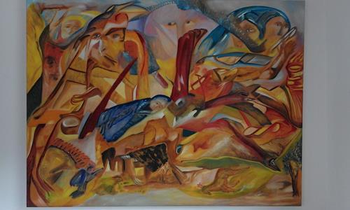 Heinz Kilchenmann, träumen, Poesie, Abstrakter Expressionismus