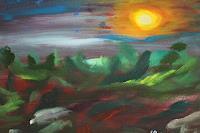 Heinz-Kilchenmann-Landschaft-Tropisch-Moderne-expressiver-Realismus