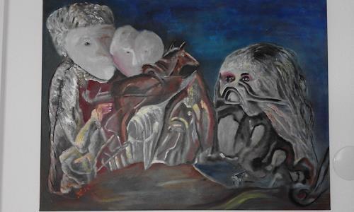 Heinz Kilchenmann, Furcht, Diverse Gefühle, Abstrakter Expressionismus