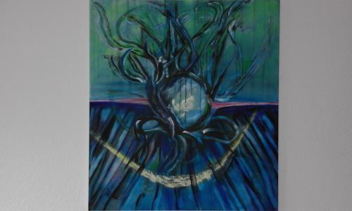 Heinz Kilchenmann, Durchblick, Abstraktes, Abstrakter Expressionismus