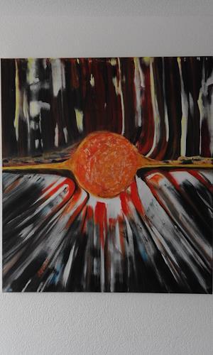 Heinz Kilchenmann, unzähmbare Energie, Abstraktes, Abstrakter Expressionismus