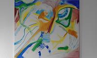 Heinz-Kilchenmann-Tiere-Luft-Moderne-Expressionismus-Abstrakter-Expressionismus