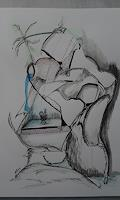 Heinz-Kilchenmann-Abstraktes-Moderne-Expressionismus-Abstrakter-Expressionismus
