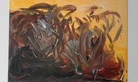 Heinz-Kilchenmann-Abstraktes-Poesie-Moderne-Expressionismus-Abstrakter-Expressionismus