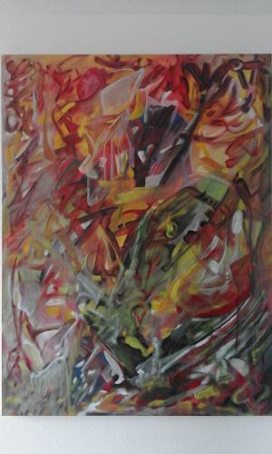 Heinz Kilchenmann, discovery, Fantasie, Abstrakter Expressionismus