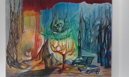 Heinz Kilchenmann, Energy place, Poesie, Abstrakter Expressionismus