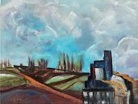 Heinz-Kilchenmann-Landschaft-Berge-Moderne-Expressionismus-Die-Bruecke