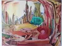 Heinz-Kilchenmann-Fantasie-Moderne-Expressionismus-Abstrakter-Expressionismus
