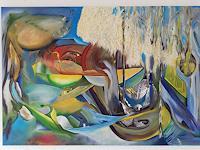 Heinz-Kilchenmann-Abstraktes-Moderne-Expressionismus-Der-Blaue-Reiter