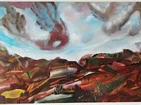 Heinz-Kilchenmann-Diverse-Landschaften-Moderne-expressiver-Realismus