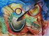 Heinz Kilchenmann, from the depths, Abstraktes, Abstrakter Expressionismus