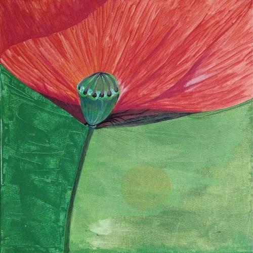 LK, Mohn, Pflanzen: Blumen, Abstrakte Kunst