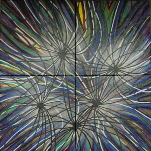 LK, Vernetzt, Abstraktes, Abstrakte Kunst