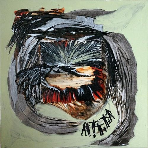 LK, Wetter?, Abstraktes, Abstrakte Kunst