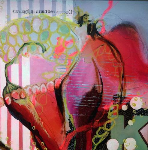 Marita Tobner, Hot kitchen aid II, Essen, Stilleben, Gegenwartskunst, Abstrakter Expressionismus