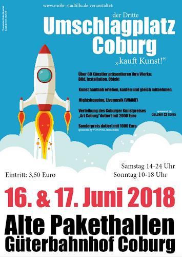 Marita Tobner, Kunstmesse Coburg 2018, Party/Feier, Aktionskunst