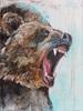 Elisabeth Burmester, Bär 2, Diverse Tiere, Jagd, Gegenwartskunst