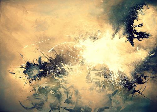 Christian Brandt, Episch gescheitert, Abstraktes, Action Painting, Expressionismus