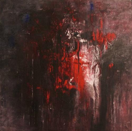 Sabine Niebuhr, Tochter aus Elysium, Abstraktes, Mythologie, Abstrakte Kunst, Abstrakter Expressionismus