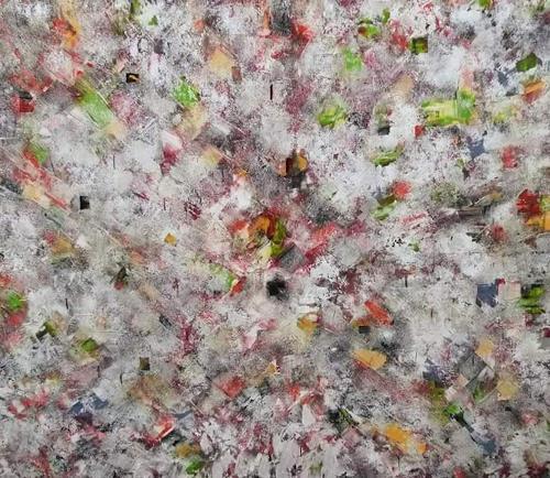 Sabine Niebuhr, Earthcam, Abstraktes, Natur: Erde, Abstrakte Kunst, Expressionismus