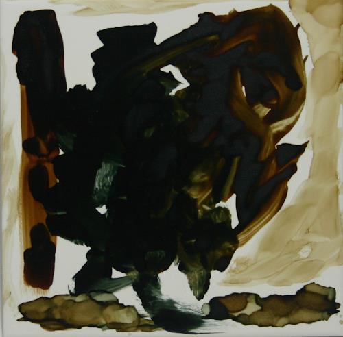 Stefan Drescher, Greif | Raptor, Mythologie, Tachismus, Abstrakter Expressionismus