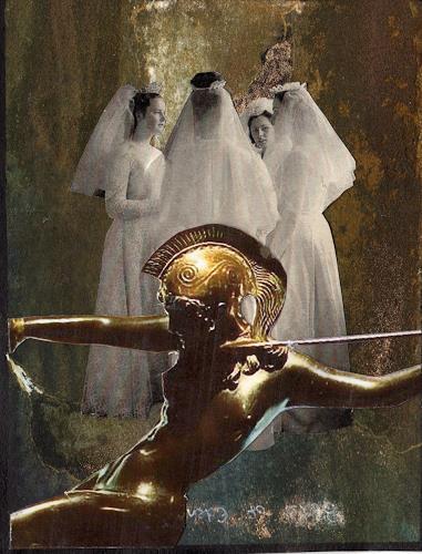 Christine Bizer, Brautgemach, Mythologie, Religion, Gegenwartskunst, Abstrakter Expressionismus