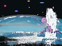 Zvonimir-Brumec-Fantasie-Moderne-Abstrakte-Kunst-Action-Painting