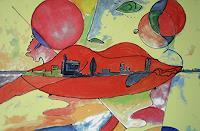 Zvonimir-Brumec-Menschen-Frau-Moderne-Expressionismus-Abstrakter-Expressionismus
