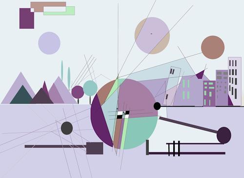 Zvonimir Brumec, WORLD OF DREAMS 3, Abstraktes, Abstraktes, Informel, Abstrakter Expressionismus