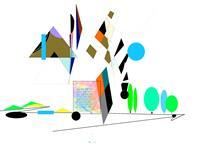 Zvonimir-Brumec-Abstraktes-Abstraktes-Moderne-Abstrakte-Kunst-Informel