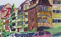Peter-Vetsch-Diverse-Bauten-Wohnen-Stadt-Neuzeit-Realismus
