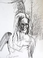 Peter-Vetsch-Menschen-Portraet-Menschen-Frau-Moderne-Moderne