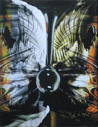 Albina E. Ringel, Tropfentraum4, Natur: Wasser, Fantasie, Gegenwartskunst, Abstrakter Expressionismus