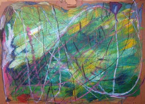 Mirjam Schadendorf, Mein Wald 1, Natur: Wald, Moderne