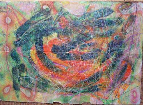Mirjam Schadendorf, Meine Landschaft 2, Abstraktes, Moderne