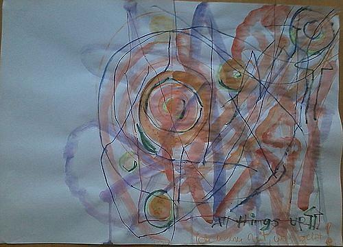 Mirjam Schadendorf, All things up, Abstraktes, Abstrakte Kunst