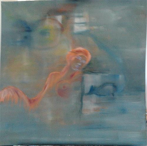 Monika Aslanidis, Traum, Fantasie, Abstrakte Kunst, Expressionismus