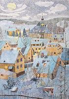dieter-jacob-Landschaft-Winter-Moderne-Impressionismus-Pointilismus