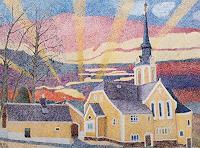 dieter-jacob-Diverse-Landschaften-Moderne-Impressionismus-Pointilismus