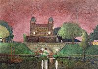 dieter-jacob-Architektur-Diverse-Bauten-Moderne-Impressionismus-Pointilismus