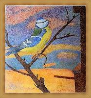 dieter-jacob-Tiere-Luft-Tiere-Luft-Moderne-Impressionismus-Pointilismus