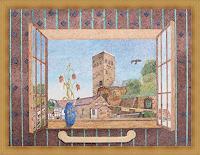 dieter-jacob-Landschaft-Fantasie-Moderne-Impressionismus-Pointilismus