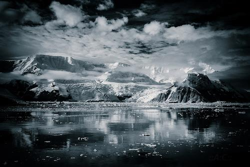 Artclassics, Antarctica I, Landschaft: Winter, Landschaft: Berge, Abstrakte Kunst, Abstrakter Expressionismus