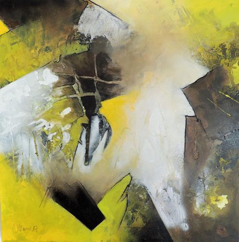 Claudia Maurer, Geistesblitz, Abstraktes, Gefühle, Abstrakte Kunst, Abstrakter Expressionismus