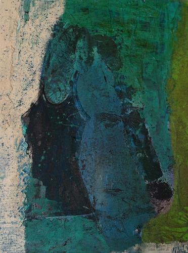 Sandra Nestler, Two Face, Abstraktes, Abstrakte Kunst, Abstrakter Expressionismus