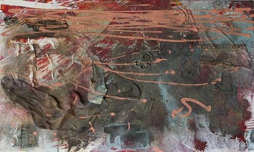 Sandra Nestler, Lonley, Abstraktes, Abstrakte Kunst