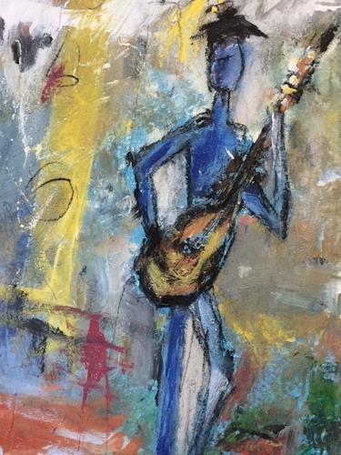 Gisela Rosenberger, Musica 4, Menschen, expressiver Realismus