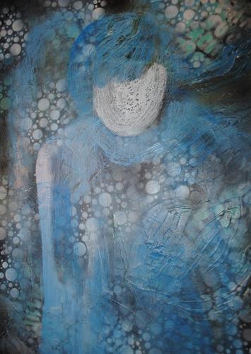 Christine Steeb, Trost, Mythologie, Glauben, Abstrakte Kunst, Expressionismus