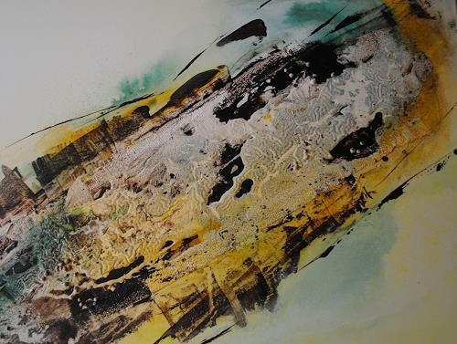 Christine Steeb, Vielfalt, Abstraktes, Fantasie, Gegenwartskunst, Abstrakter Expressionismus